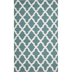 Artistic Weavers York Teal Geometric Olivia Area Rug & Reviews | Wayfair