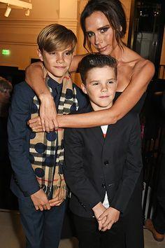 Romeo, Cruz und Victoria Beckham