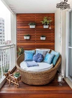 Ирина Корнийчук Small Terrace, Small Balcony Design, Small Patio, Small Balcony Garden, Modern Balcony, Ikea Outdoor, Outdoor Ideas, Patio Ideas, Outdoor Seating