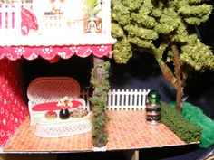 """Patio in the 1/4"""" Candy Box"""