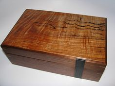 Upscale Designer Wooden Keepsake Box Inlayed by ArtisticBoxes, $335.00