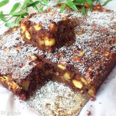 Di gotuje: Leniwiec (czekoladowe ciasto z jabłkami) Sweets Recipes, Cheese Recipes, Baking Recipes, Cake Recipes, Polish Desserts, Polish Recipes, Dessert Drinks, Dessert Bars, Pumpkin Cheesecake