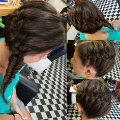 French braid/ fishtail