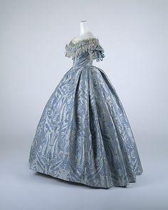 Ball Gown, circa 1860