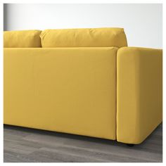 IKEA - VIMLE Sectional, 3-seat corner with open end, Orrsta Ikea Vimle, Ikea Sofa, Cozy Sofa, Seat Cushions, Love Seat, Couch, Golden Yellow, Living Room, Bedroom