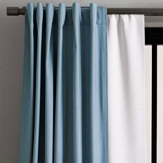 Blackout drapes reduce noise and improve insulation---great for small apartments.