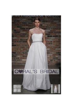 Wedding Dress Chiffon soft A-Line Gown