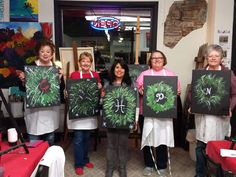 Paint Party, Reusable Tote Bags