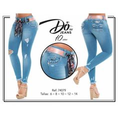 Color Azul, Fashion Dresses, Denim, Html, Polyvore, Women, Women's Jeans, Skinny Jeans, Cowboys