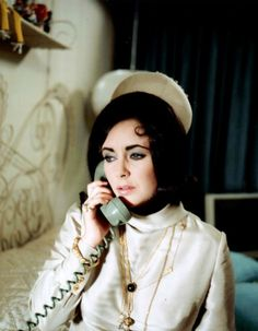 "thelittlefreakazoidthatcould: "" Elizabeth Taylor in The Only Game in Town, 1970. """