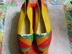 Margaret Jerrold Shoes Safron Fruit
