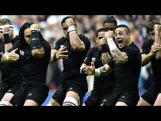 THE HAKA | The haka is a tradition of the Maori people of New Zealand. The spectacle involves menacing facial expressions, grunting, guttural howling, loud chanting, stomping, clapping, chest-thumping, and tongue-wagging intended to strike awe and fear into the tribe's opponents.Today, it is most often seen when it is performed by New Zealand's national sports teams. Their rugby team, the All Blacks, perform the haka on the field prior to a match, as seen in the video above. During the 2014…