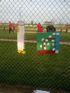 Tball line up & field positions