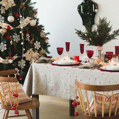 Los mejores complementos para mesas navideñas