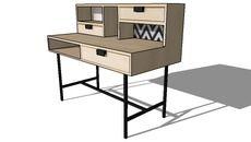 Mô hình 3D của Graphik, Cục L 120 cm, Maisons du monde, ref: 156.261, prix: 229,90 €