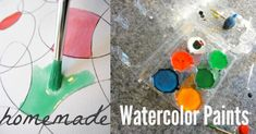 Make Homemade Watercolor Paints