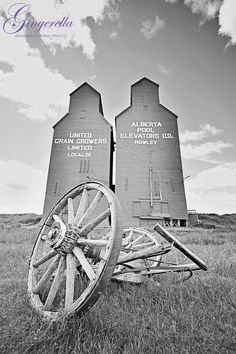 Rowley Alberta, Ghost Town, Grain Elevators, summer, Wall Art Old Photos, Vintage Photos, Jonny Harris, Canadian Things, Wooden Barn, Beautiful Places To Live, True North, Canada Day, The Province