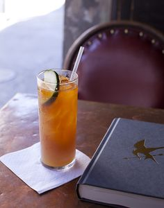 """Recipe from """"Pimm's Cup"""" from The Napoleon House - New Orleans, Louisiana by Eric Isaac, via Flickr"""