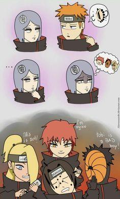 Naruto Shippuden Sasuke, Naruto Kakashi, Anime Naruto, Naruto Akatsuki Funny, Funny Naruto Memes, Naruto Comic, Naruto Cute, Otaku Anime, Naruto Pictures