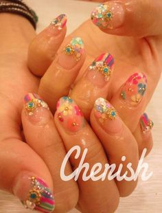 japanese nail art | Tumblr