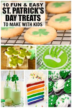 3e24e6861f2 10 St. Patrick s Day treats to make with your kids
