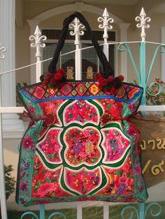 Tote -Tribal-Handmade Ethnic Hmong Bag