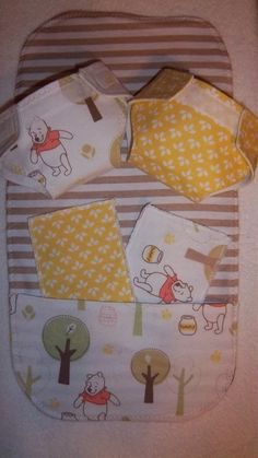 REDUCED - Combo Set Baby Doll Diaper, Changing Pad, Diaper Wipes