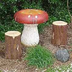 Yes, I need a mushroom stool!
