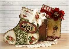GD Gift Stockings--gift card holders...free template