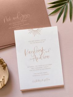 Burnt Orange Wedding Invitations, Boho Wedding Invitation Template, Desert Wedding Invitation, Warm Wedding Invite, Sunshine Invitation