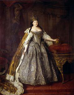Louis Caravaque, Portrait of Empress Anna Ioannovna, 1730