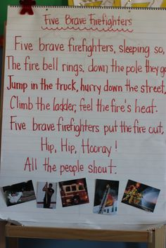 Rhyme for Fire Safety!