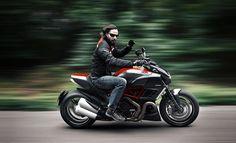 Keanu Reeves& Ducati Diavel