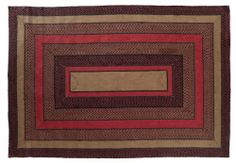 """Bingham Jute Rug Braided Rect 72x108"""" by Victorian Heart. $224.95. High end quality and workmanship!. Extensive line of matching items and accessories available! (Search by Collection name). Bingham Collection colors: Charcoal, Cr?me, Tan, Red (not all items have all colors). Product measurements and additional details listed in title and/or Product Description below.. All cloth items in our collections are 100% preshrunk cotton. All braided items (like rugs, baskets,..."""