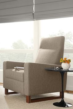 Dalton Recliner With Walnut Legs Recliners Lounge Chairs Living Room Board