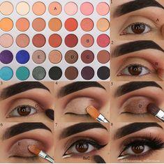 Looks jaclyn hill palette Eyeshadow look using the Jaclyn Hill palette by Morphe. Lidschatten-Look mit der Jaclyn Hill-Palette von Morphe. Jaclyn Hill Palette, Jacklyn Hill Palette Looks, Jaclyn Hill Eyeshadow Palette, Makeup Box, Skin Makeup, Eyeshadow Makeup, Beauty Makeup, Makeup Ideas, Blue Eyeshadow
