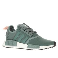 Adidas Light Green Nmd Runner Trainers