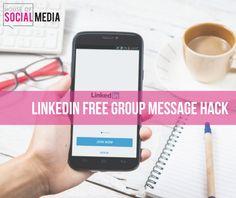 LinkedIn free message hack #LinkedIntip #sociamedia #linkedin