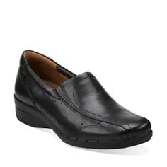 4770220e22f Clap in Black Leather - Womens Shoes from Clarks