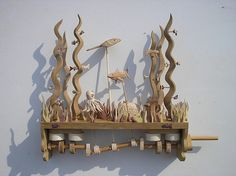 Under the sea automata | by Wanda Sowry Nice idea for the mid section cams to complete a scene very easily. M
