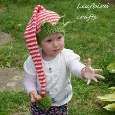 Эльф вязание крючком шляпу,малыш шапка, шапка для мальчиков, девочек шляпу, Гном шляпу, полосатый Эльф Hat, Эльф шляпу с золотой утюг мини колокол подвески, Рождество шляпу