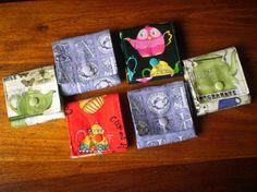 Estuches para las bolsitas de té