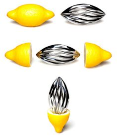 Mysqueeze lemon squeezer turn into a Design Icon