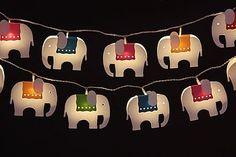 Elephant LED Light Chain