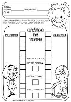 A Arte de Ensinar e Aprender: Atividade pronta - Gráfico de alunos