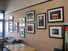 picture frame wall - Google Search