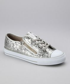 Take a look at this Platinum Mystique Sneaker - Women by Gotta Flurt on #zulily today!