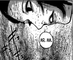This proves that Furuta is fucking Souta bc how the hell does he know or found out Matsumes nickname that she used at the Ghoul restaurant or whatever in such a short time??? Nobody has called her before mr.MM