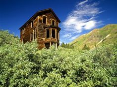 Abandoned  House, Colorado.