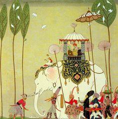 indigodreams:  Georges Barbier 1882-1932 Beautiful Missous (1922) from The Bridgman Art Galleryvia mpt.1607